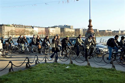 Traffic in Copenhagen